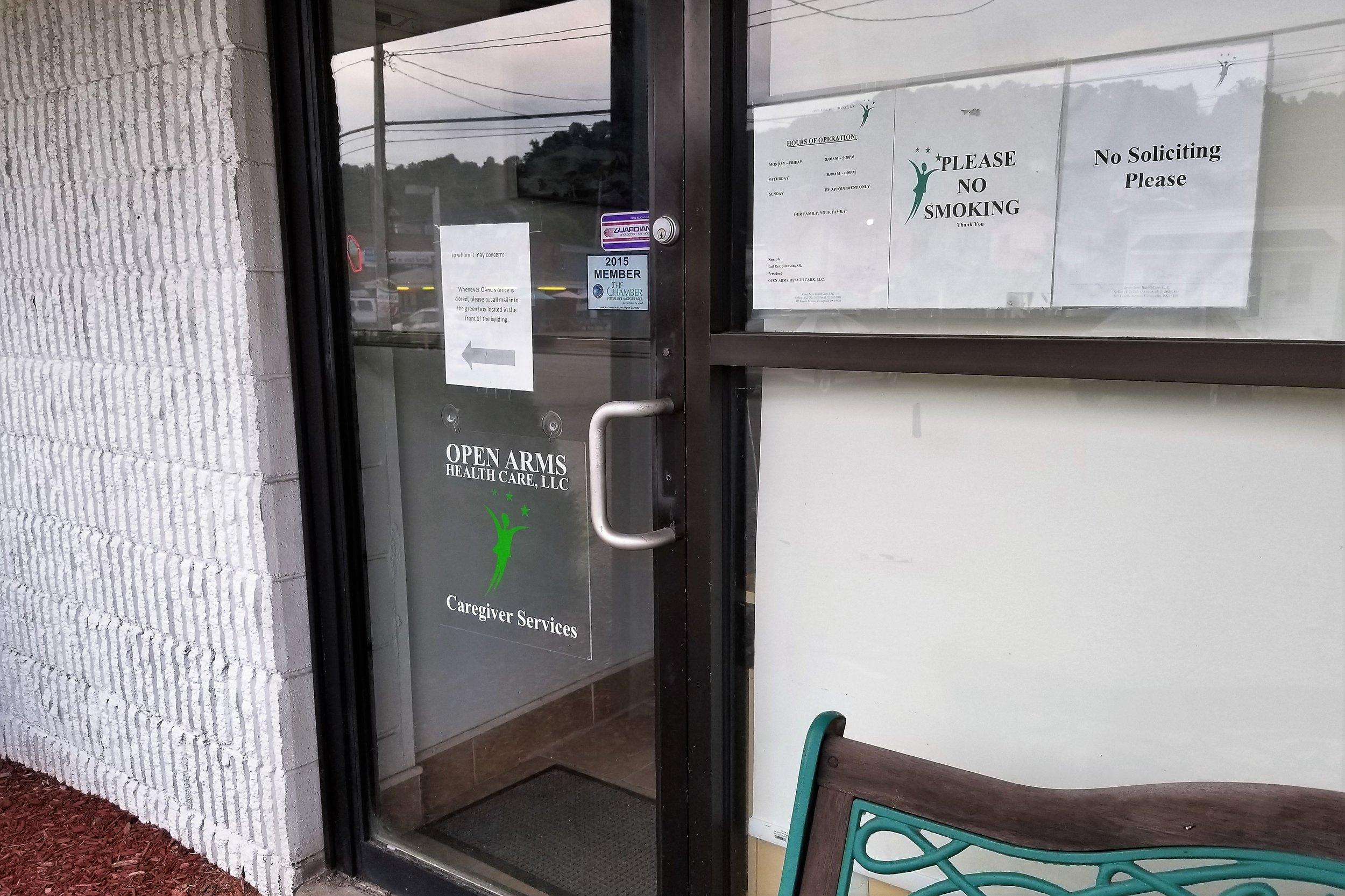 Open Arms Health Care - 805 4th Ave,(412) 262-1580