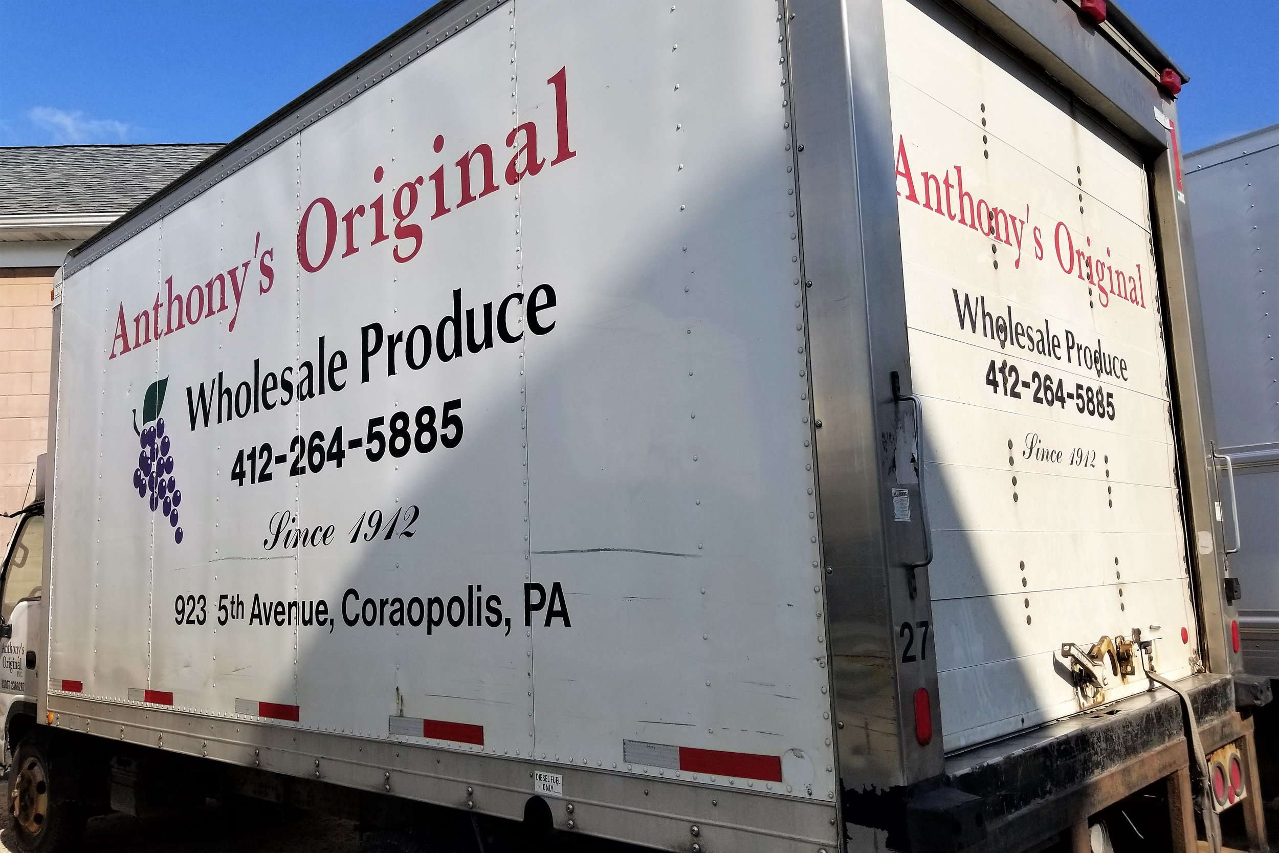 Anthony's Original Wholesale Produce - 923 5th Ave, (412) 264-5885