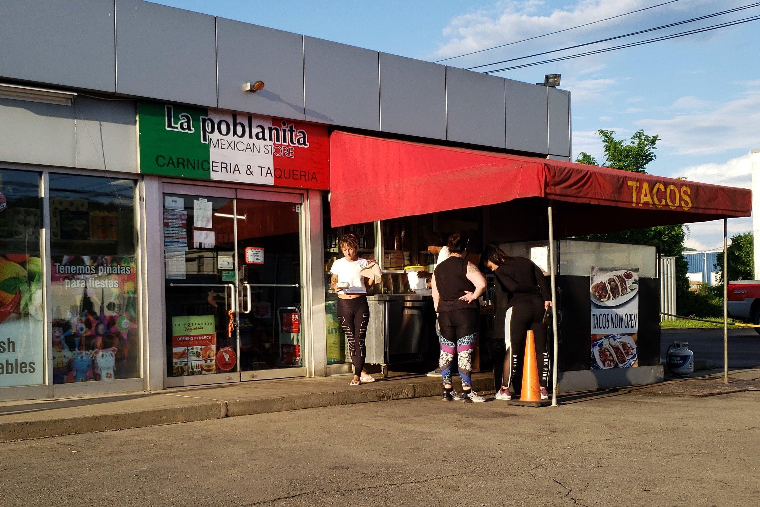 La Poblanita Mexican Market and Taco Stand - 801 4th Ave, (412) 716-7768