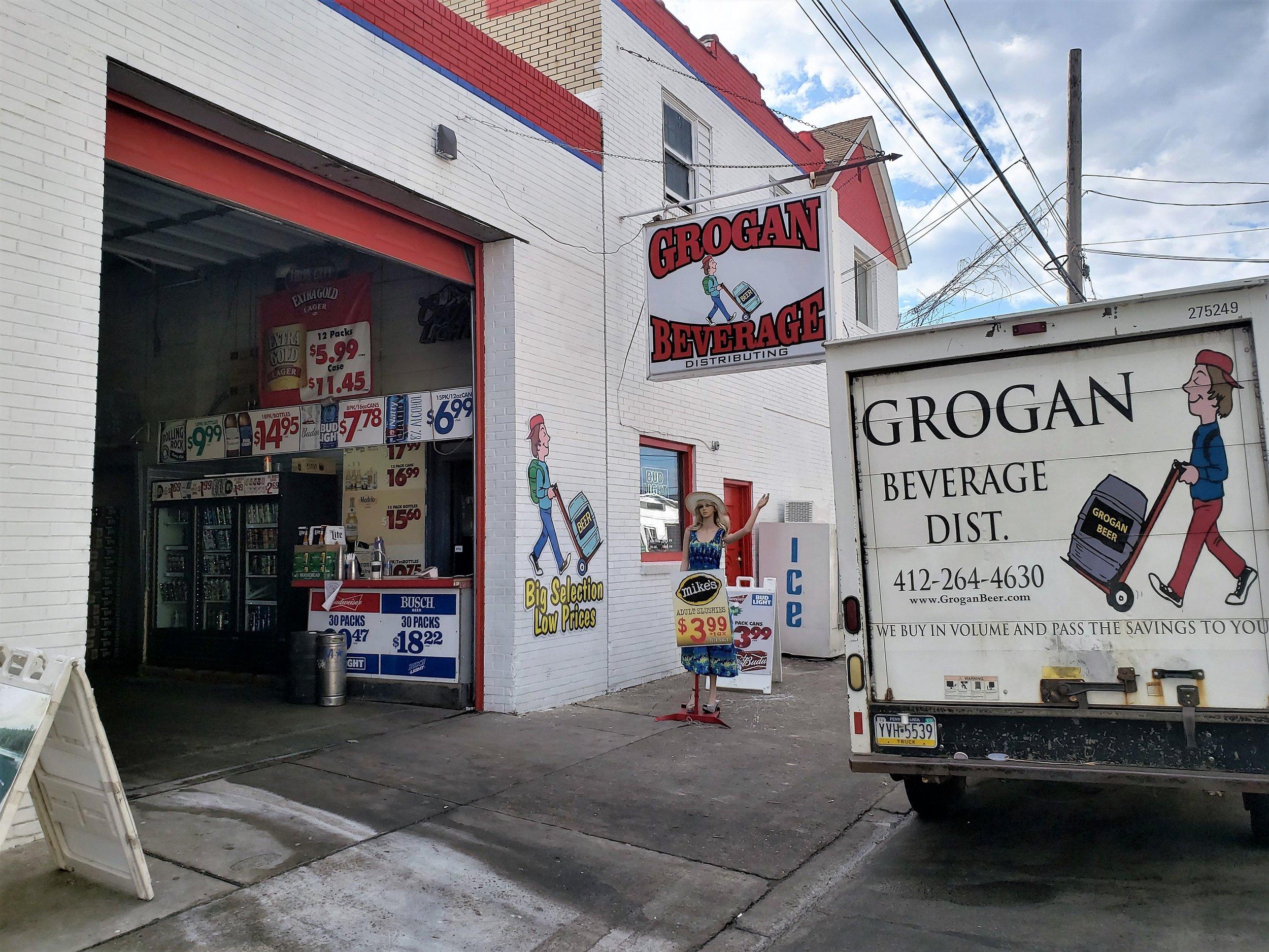 Grogan Beverage Distributors - 840 4th Ave, (412) 264-4630