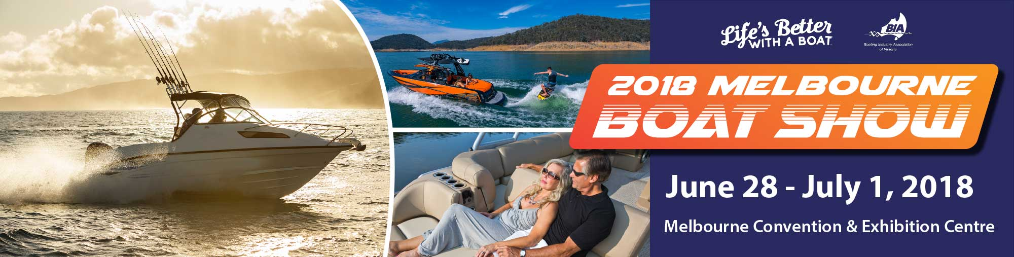 Melbourne Boat Show - Stand A25