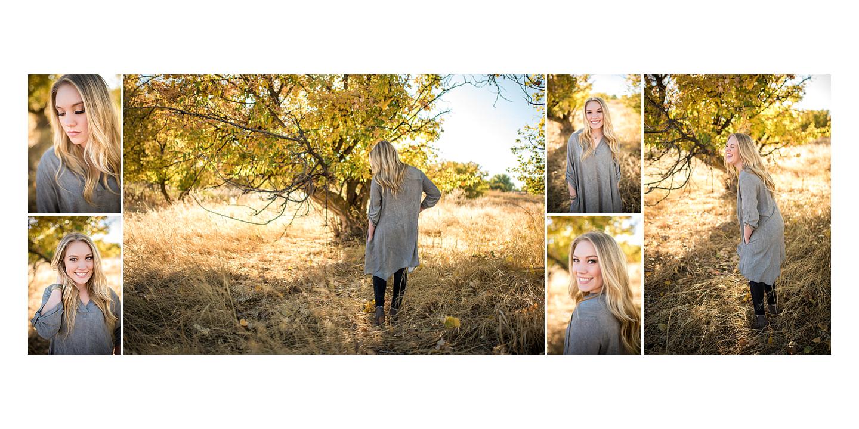 Fall Senior Portraits in Great Falls, Montana