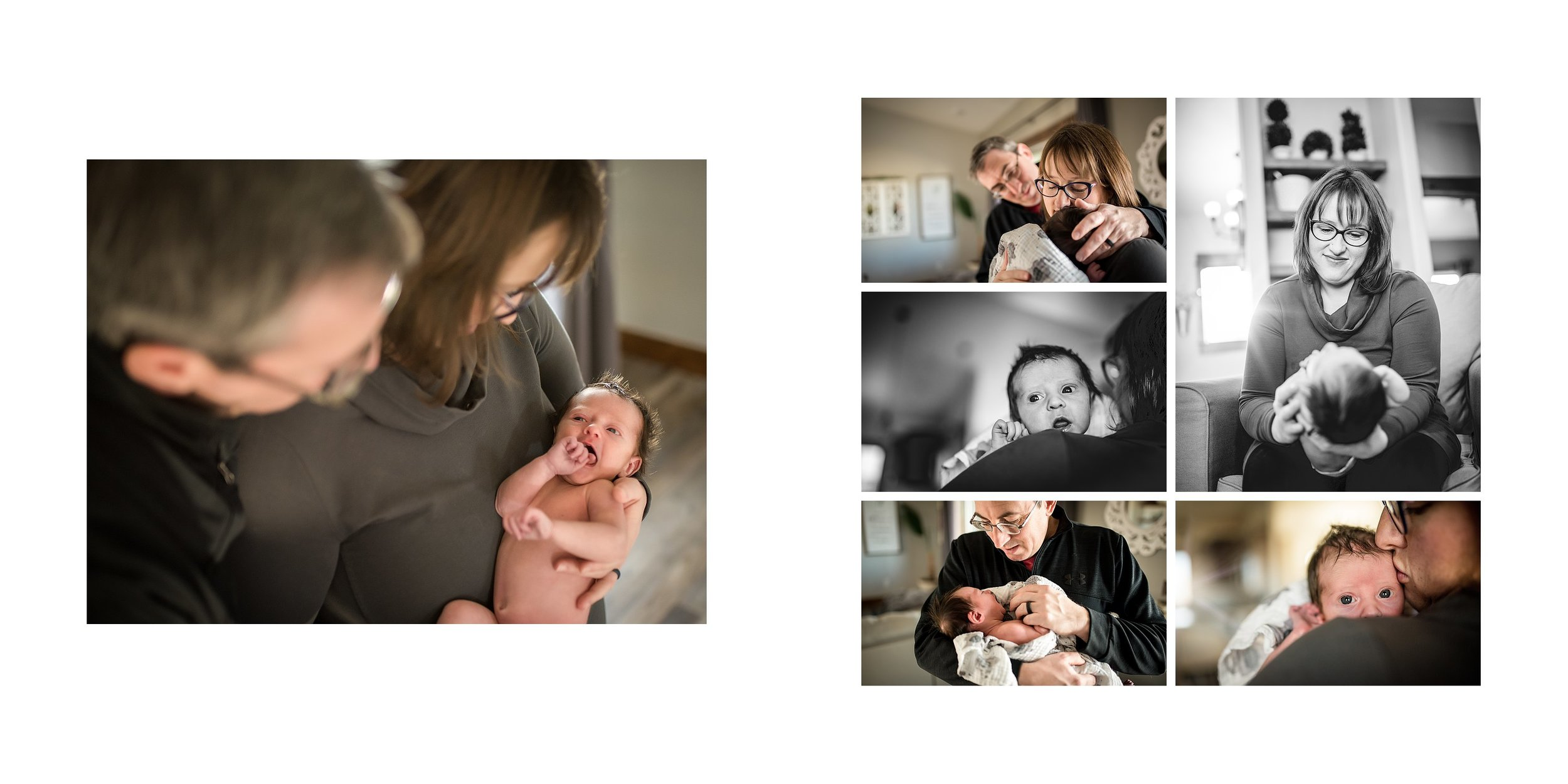 newborn lifestyle photography in Great Falls, MT