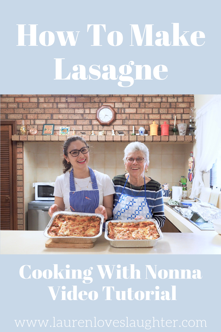 How To Make Lasagna Cooking With Nonna Video Tutorial