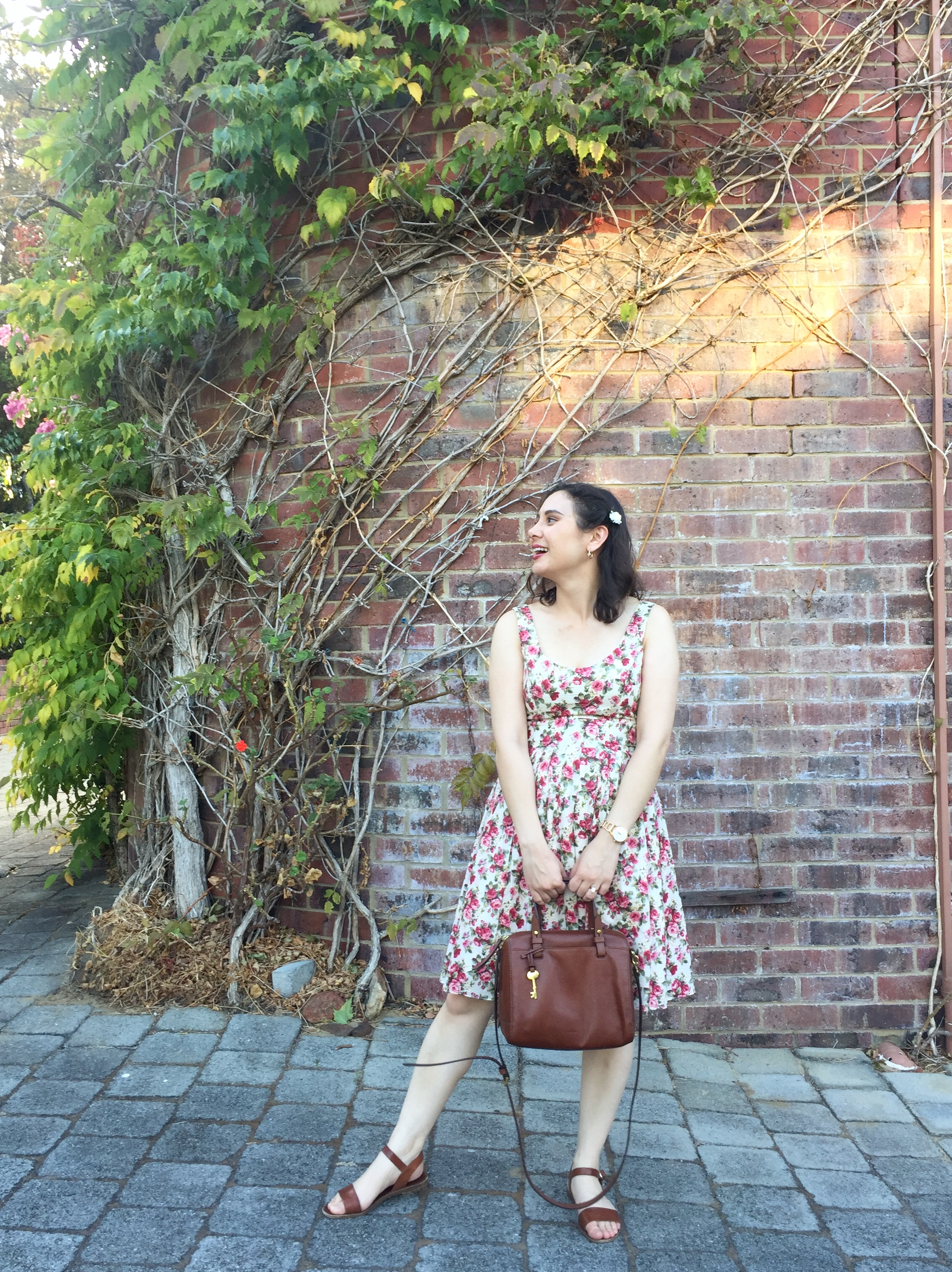 The Classic Floral Dress - Lauren Natalia