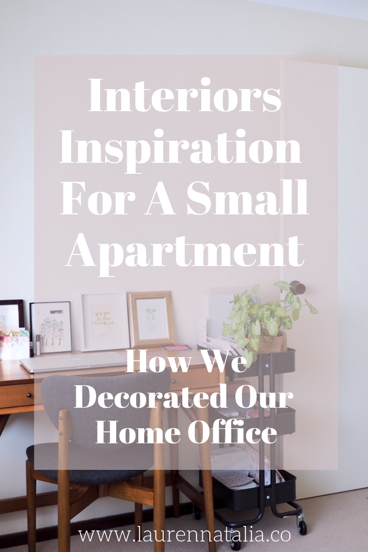 Interiors inspiration for a small apartment - home office decor