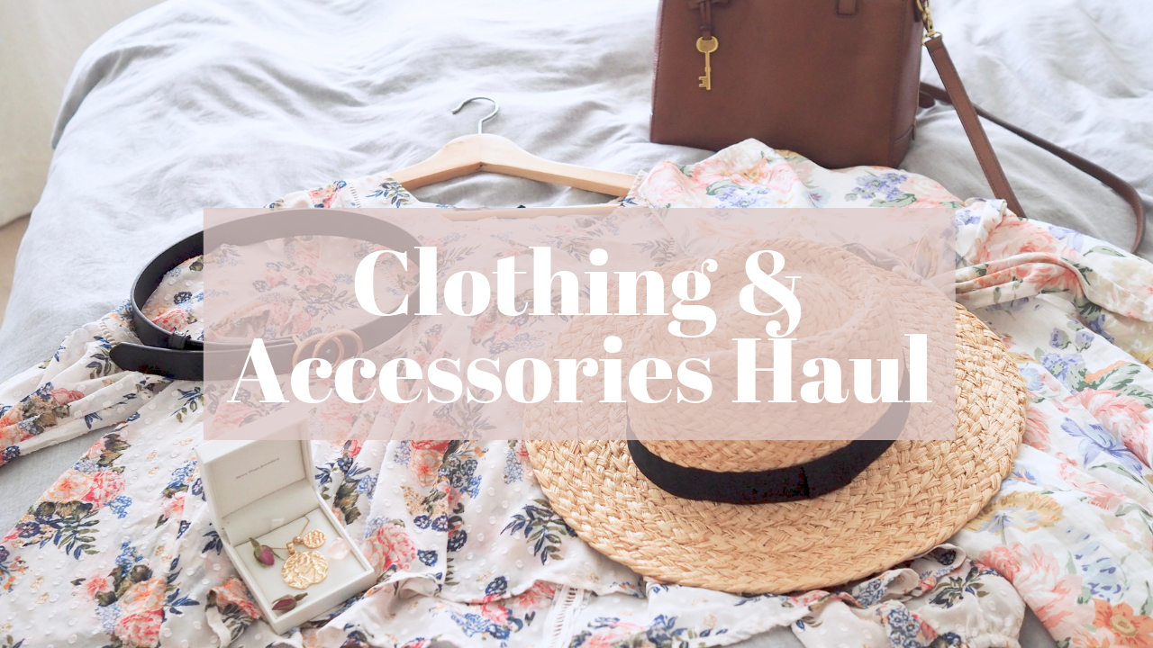 Clothing and Accessories Haul
