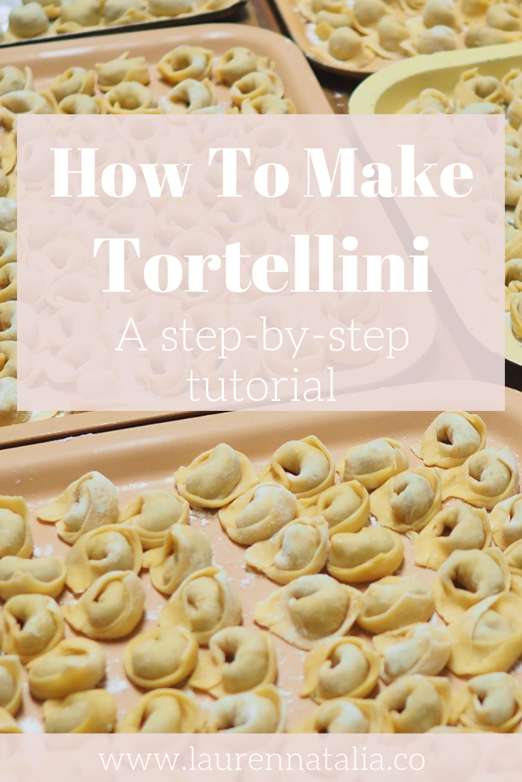 How To Make Tortellini Cooking With Nonna Video Tutorial