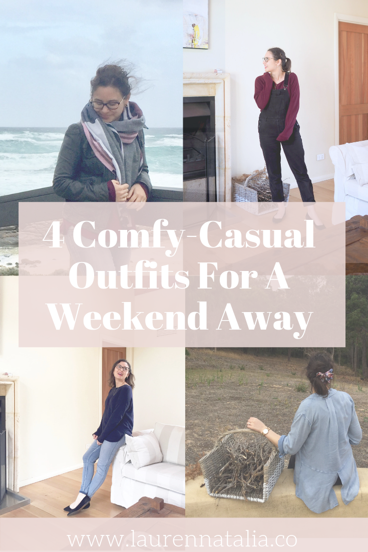 4 Outfits For A Weekend Away