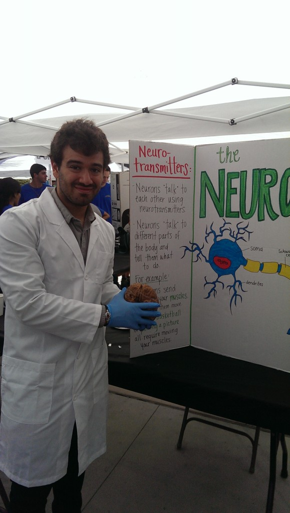 Nicco Reggente, a doctoral student of the Psychology Department
