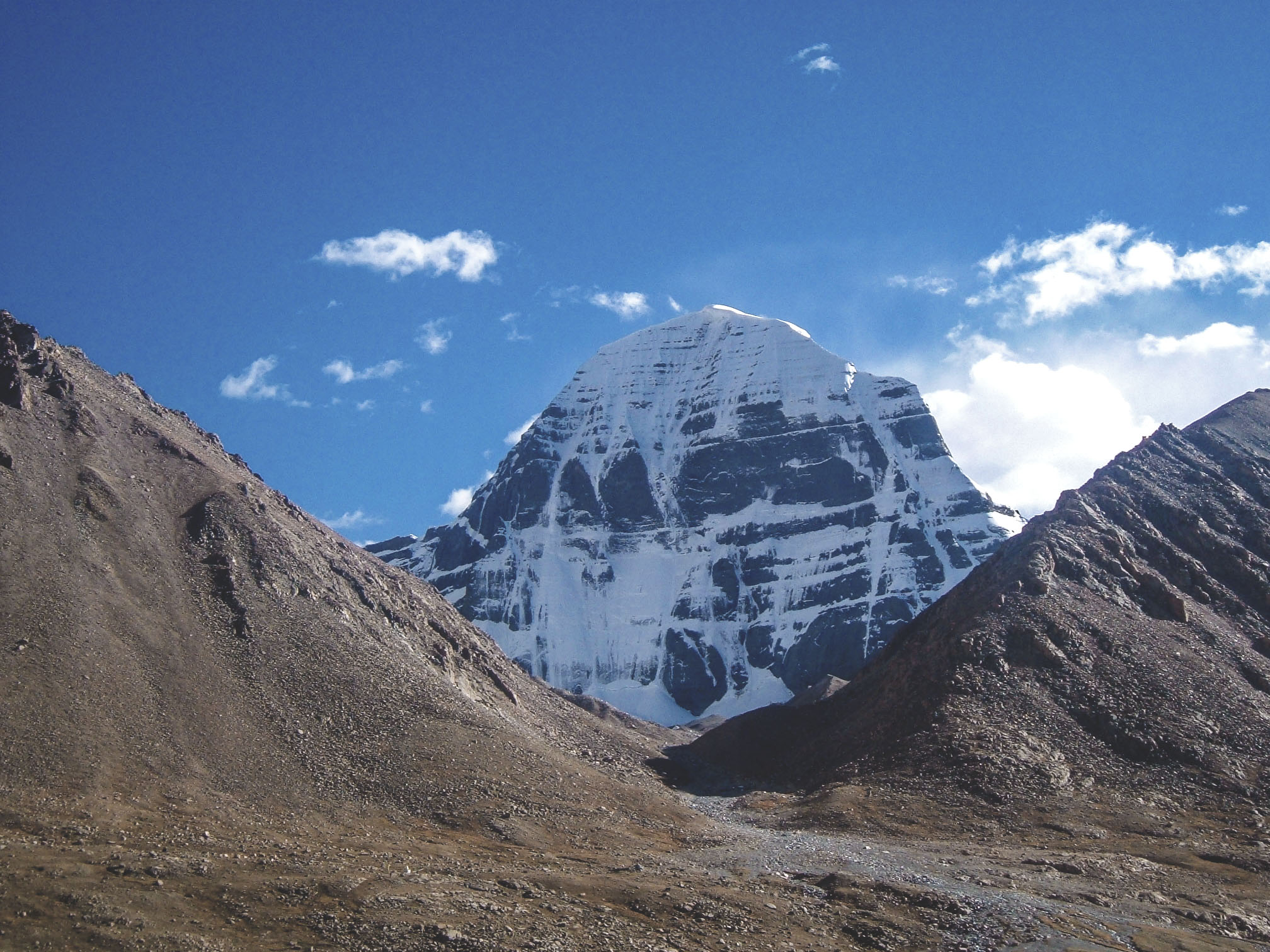 North face of Mt. Kailash