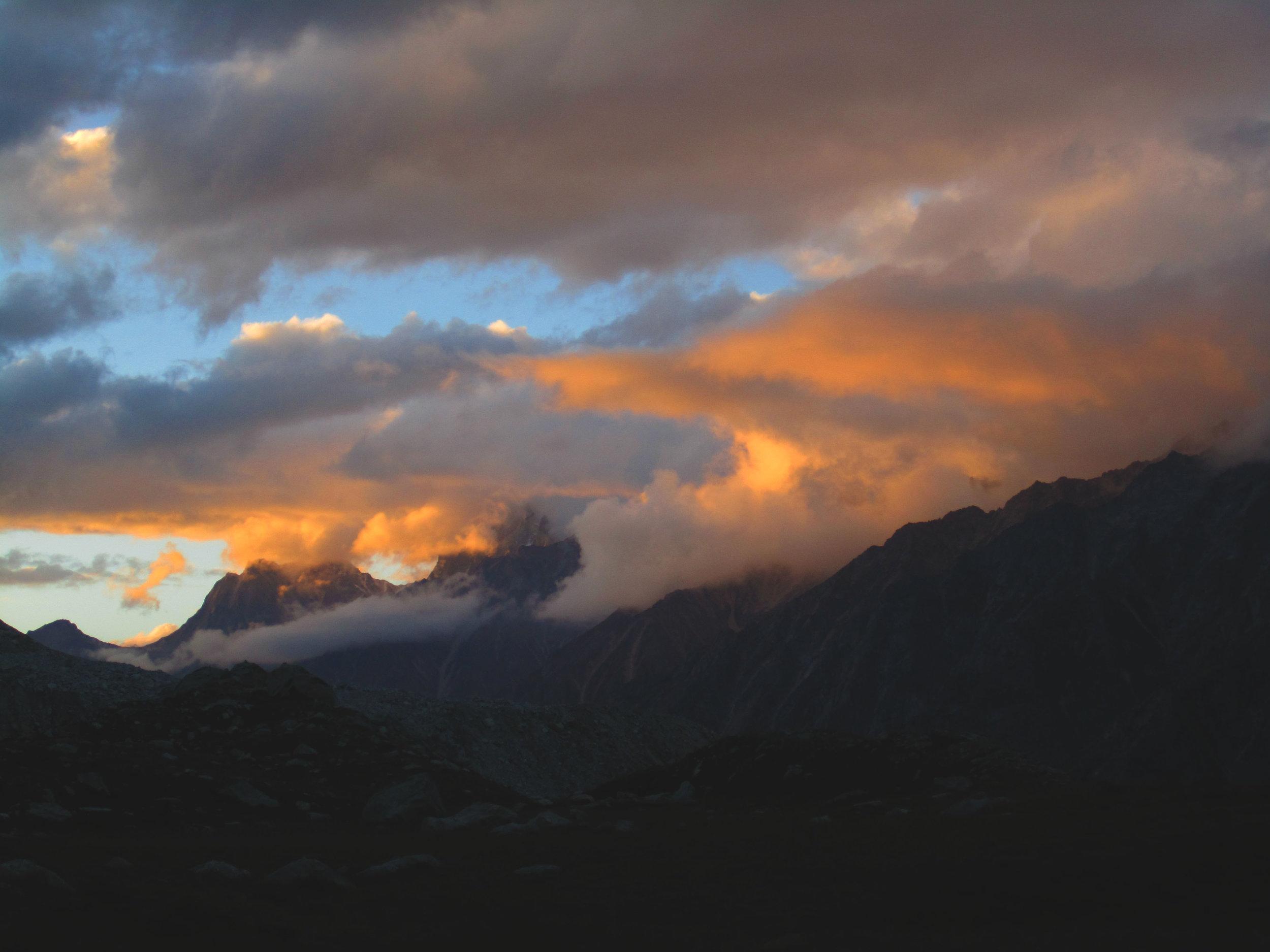 Sunset at Bjojvasa