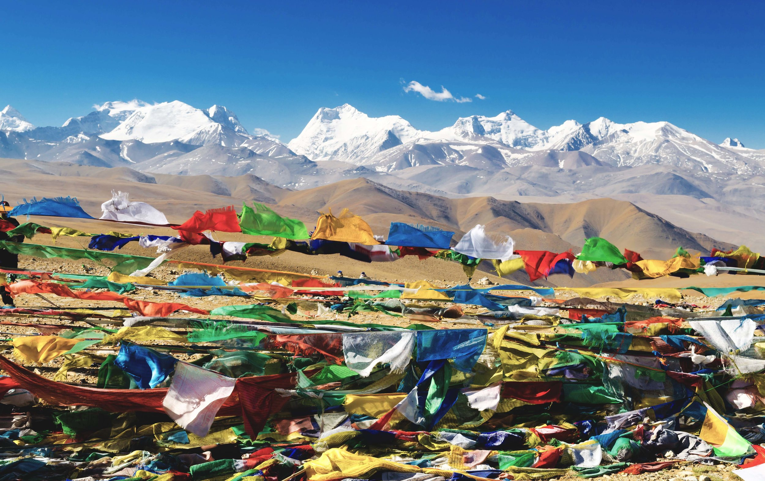 Thong La Pass Tibet
