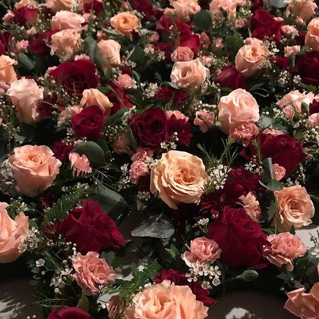 Event centerpieces.  #floraldesign #arrangements #eventdecor #instaflowers