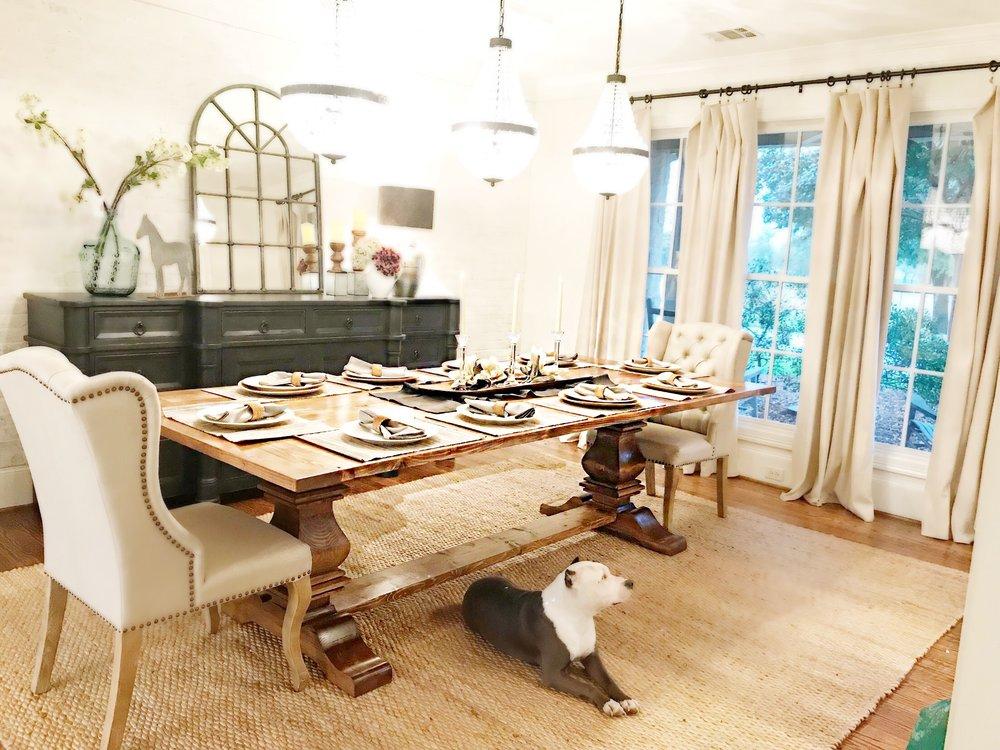 10 Ft Farmhouse Table The Rustic, 10 Feet Dining Room Table