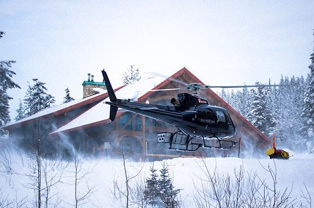 Thanks @greatcanadianheliskiing for letting me take care of social medias for a week #dreamscomingreality #gchbestdayever