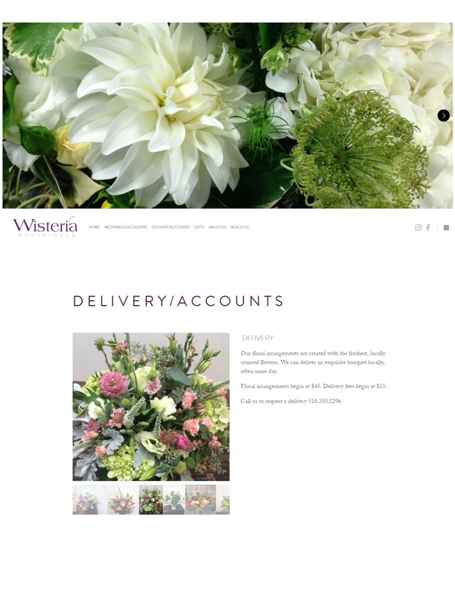 Wisteria Flower Shop