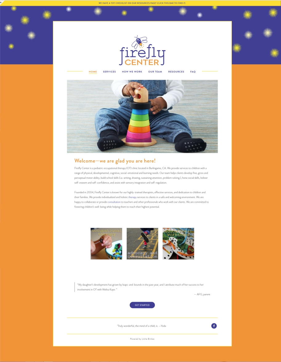 Firefly Center Occupational Therapy