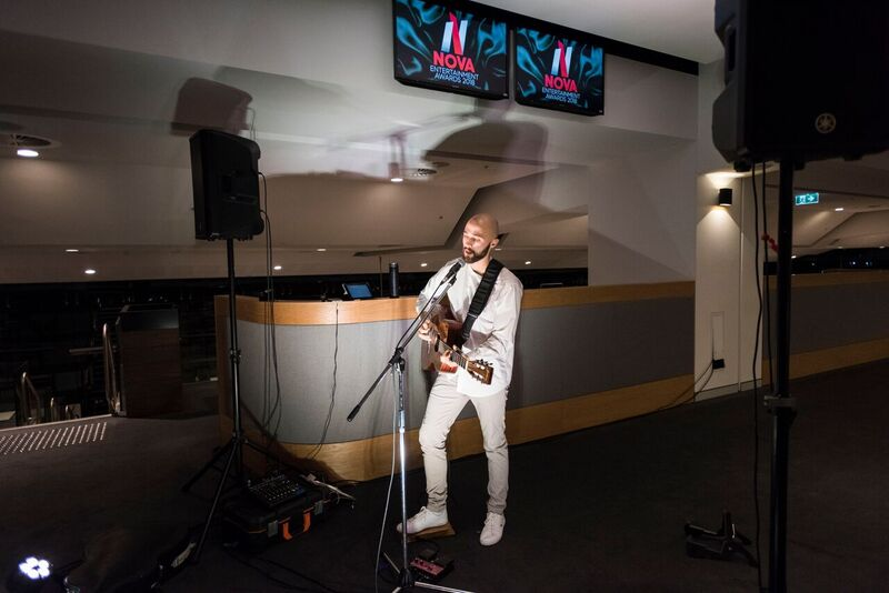 mark crotti at nova entertainment awards acoustic music corporate