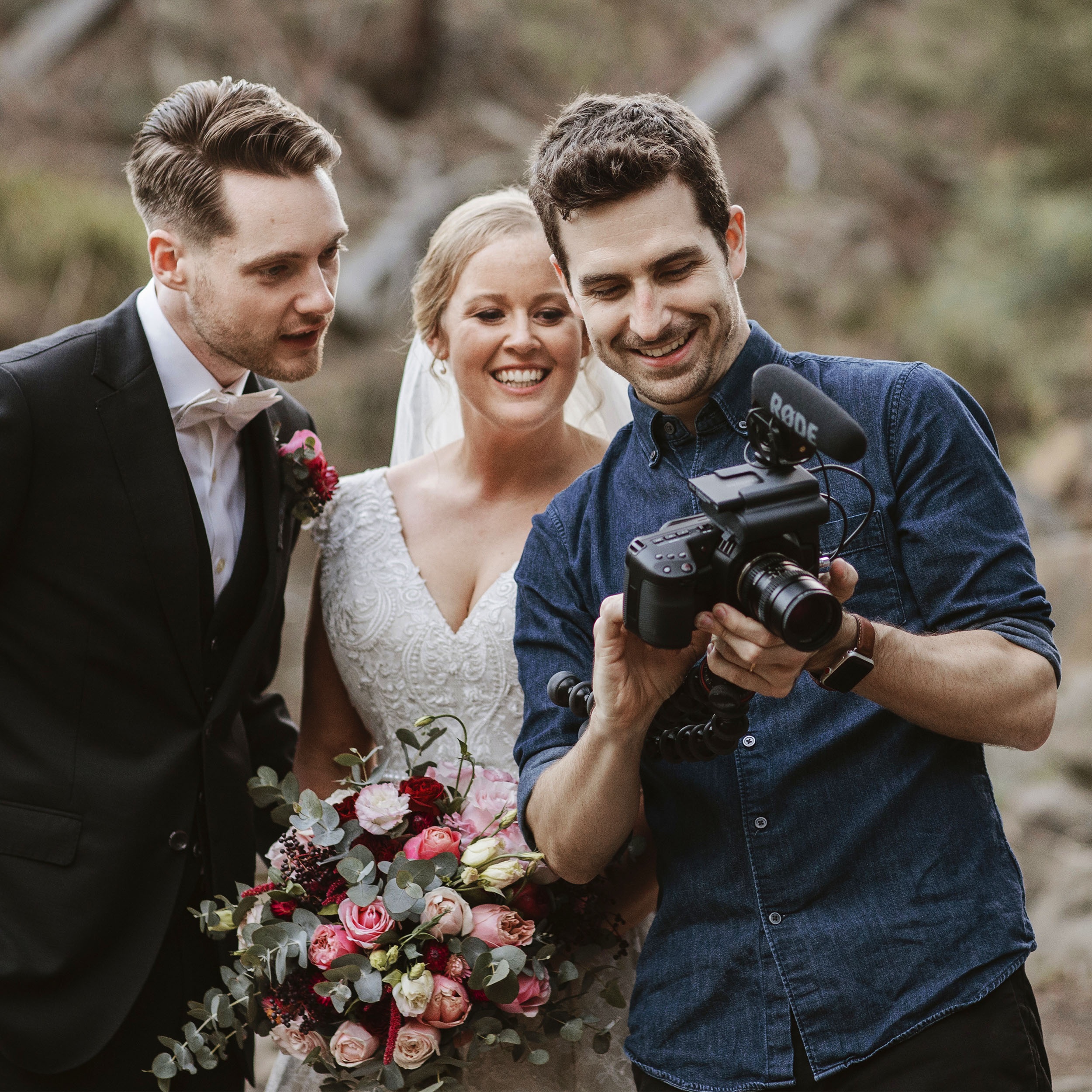 Tea Wales, wedding videographer