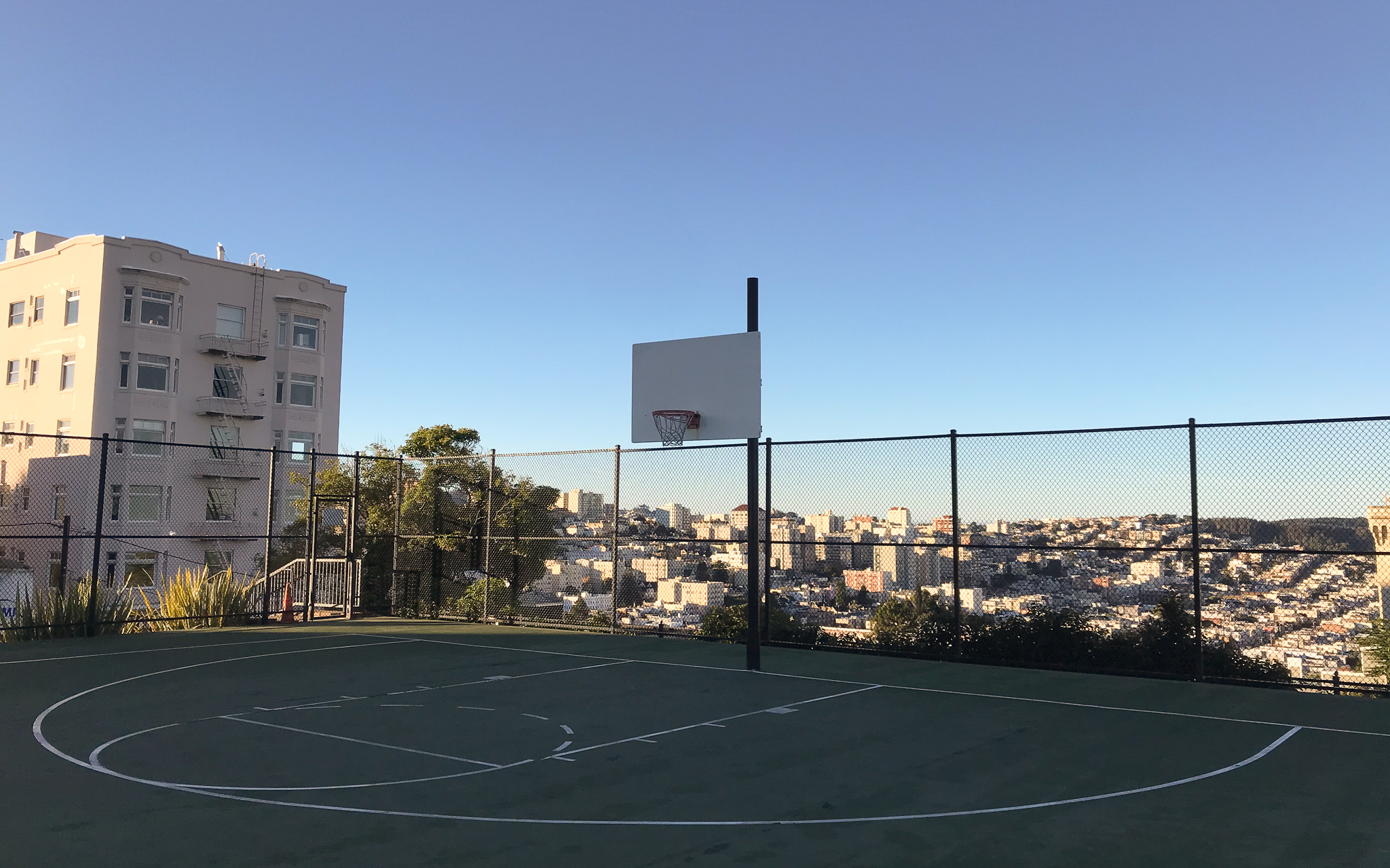 Basketball in San Francisco
