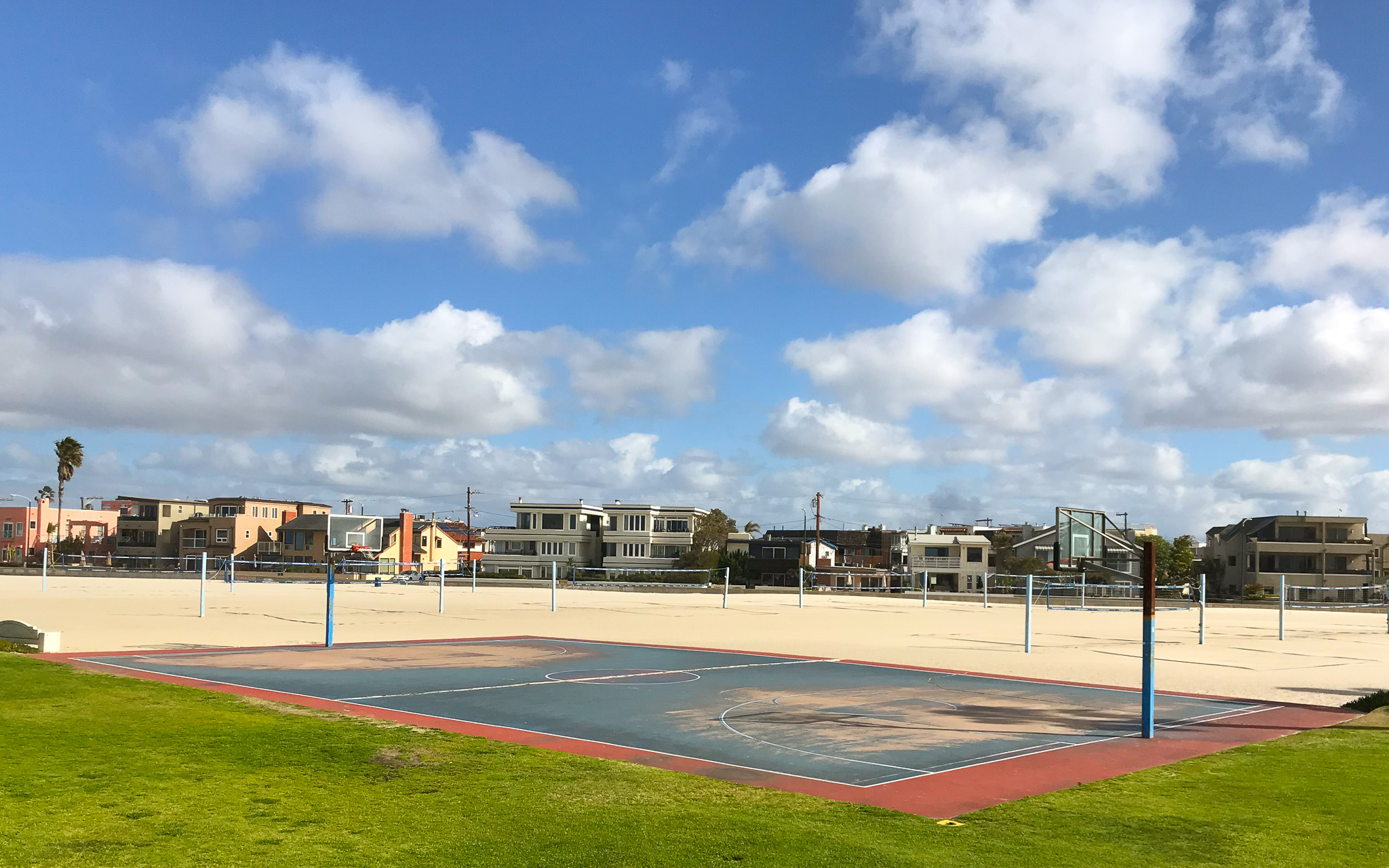 basketball courts in America