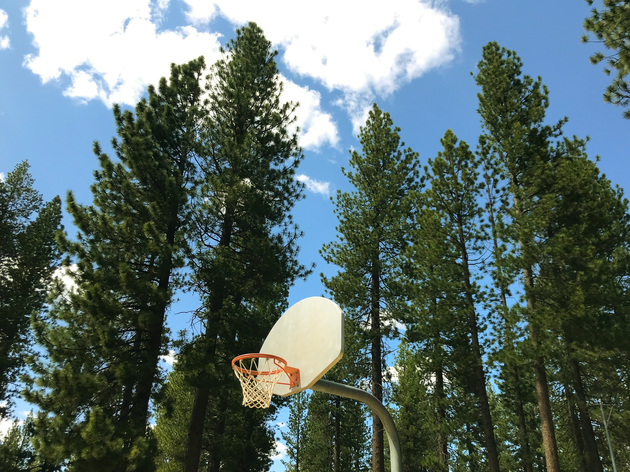 Lake Tahoe Basketball Court