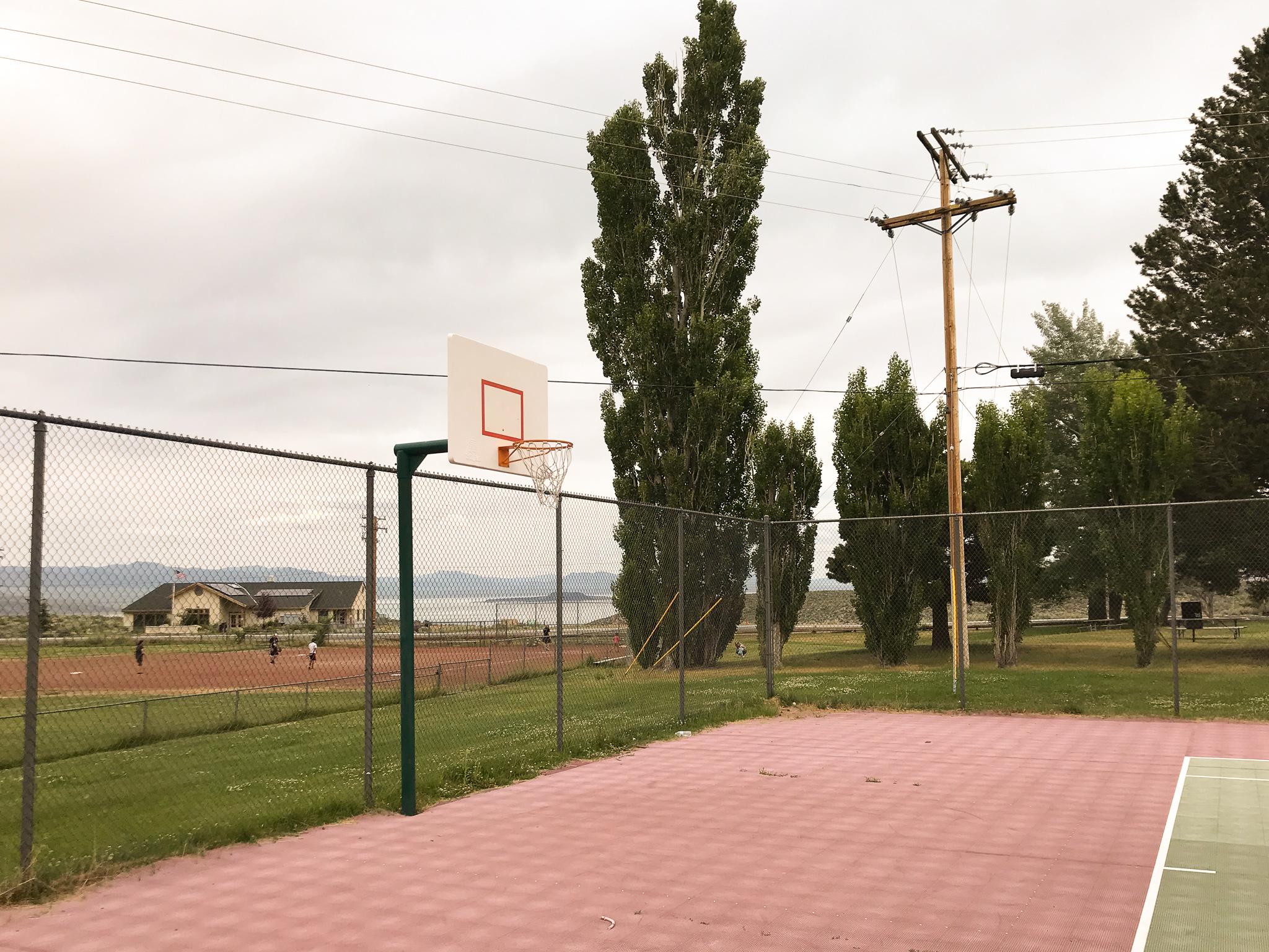 Gus Hess Community Park basketball hoop