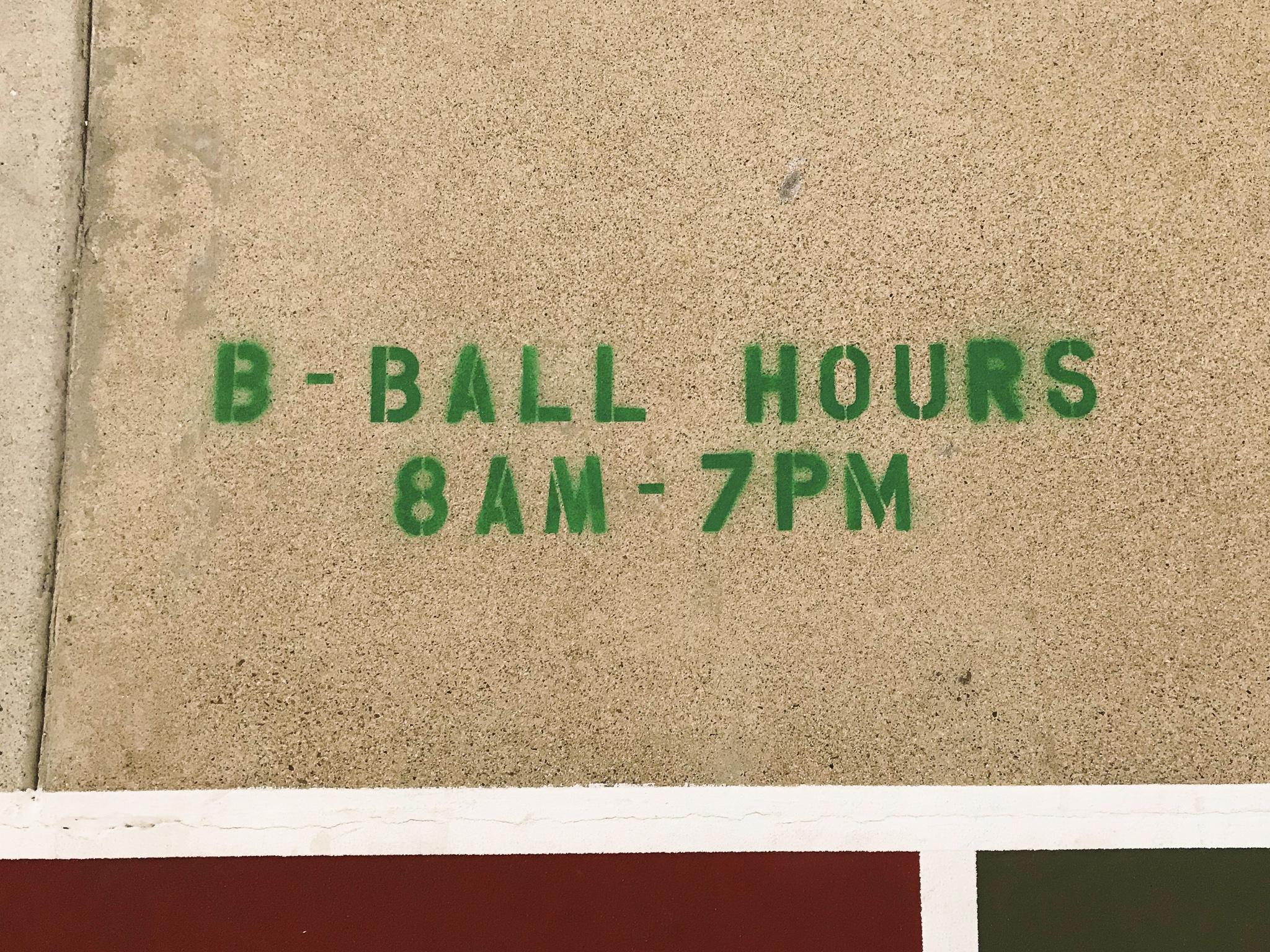 38th Street Basketball Court California Newport Beach