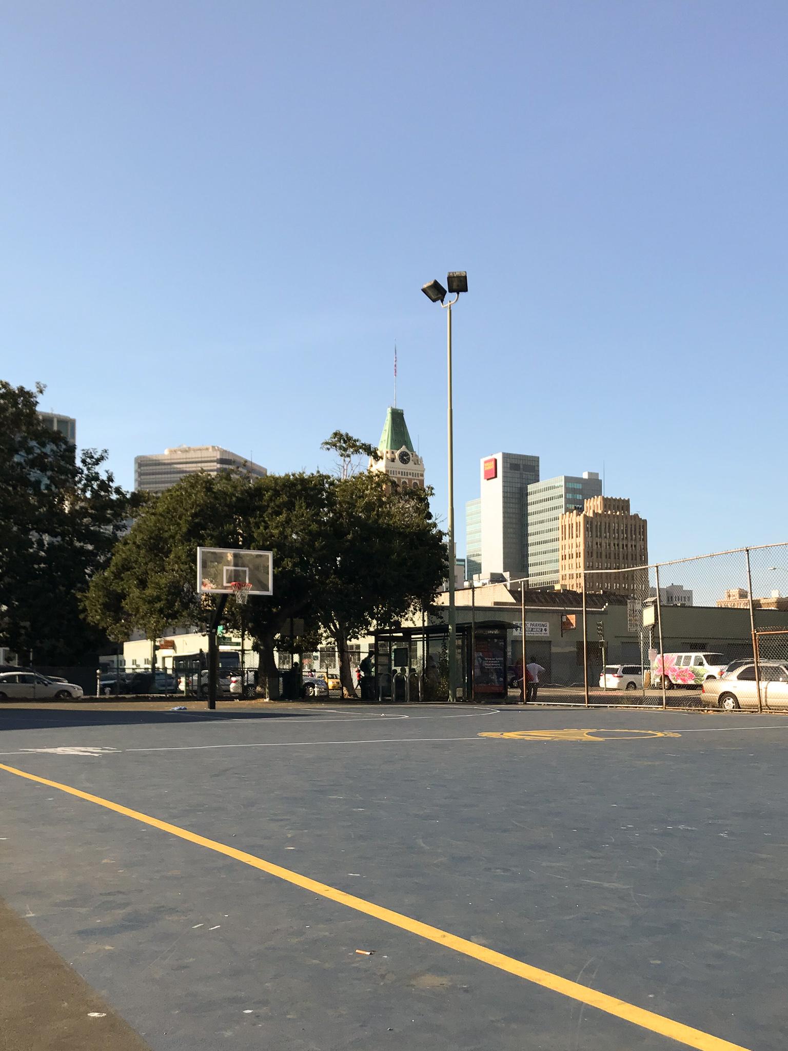 Lincoln Square Park in Oakland California