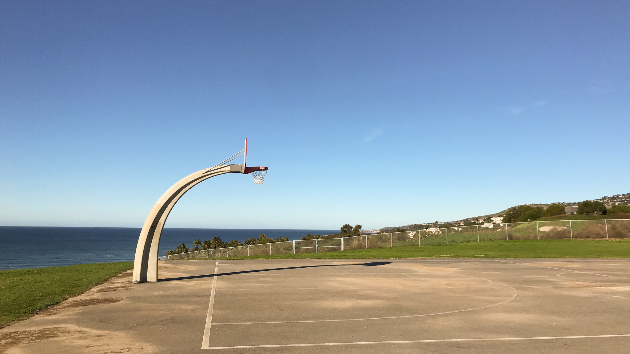 Angels Gate Park best basketball courts in Los Angeles