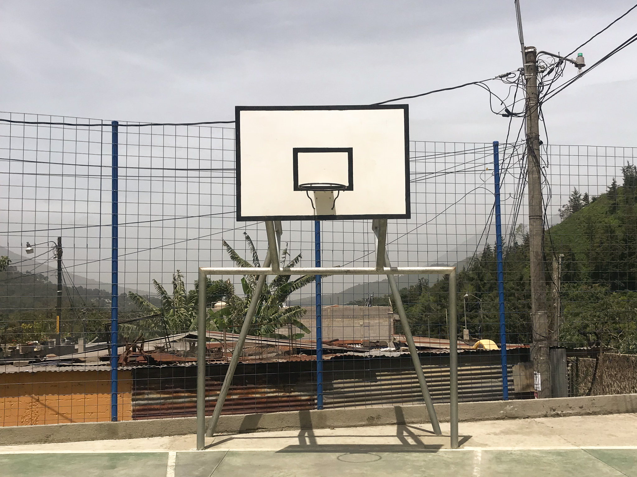 Guatemala basketball courts pictures
