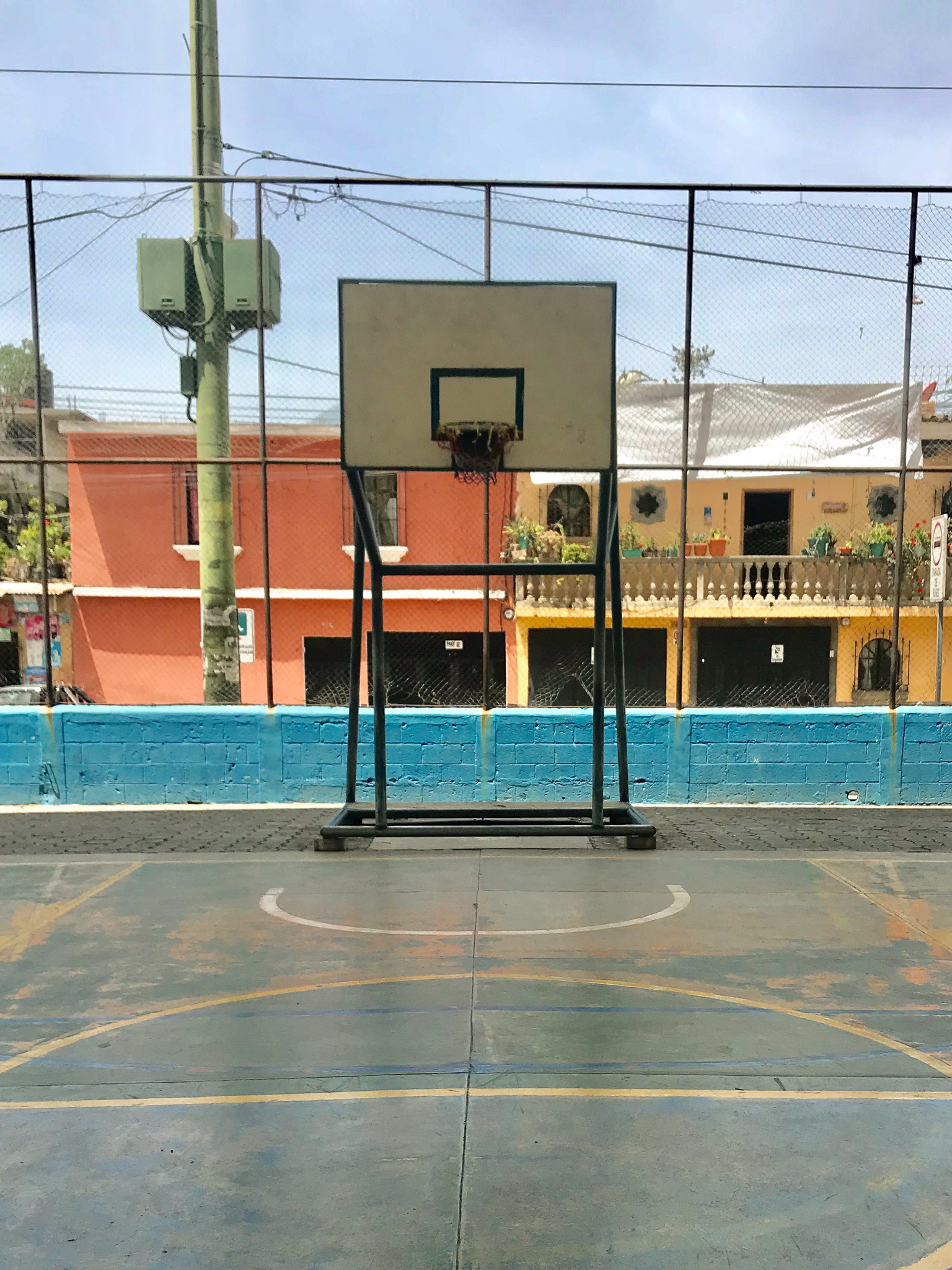 Guatemala basketball hoops