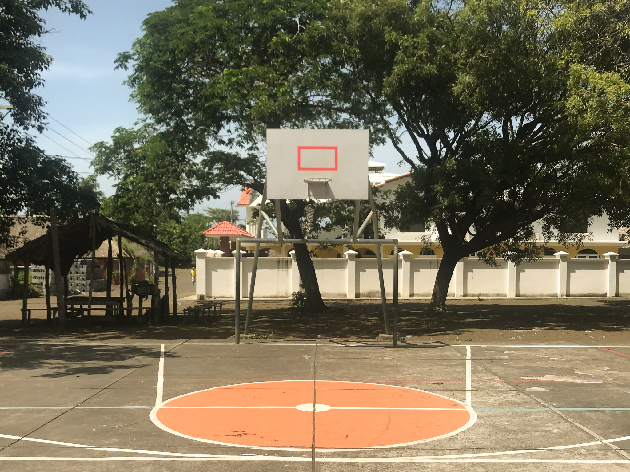 El Paredon basketball court Guatemala