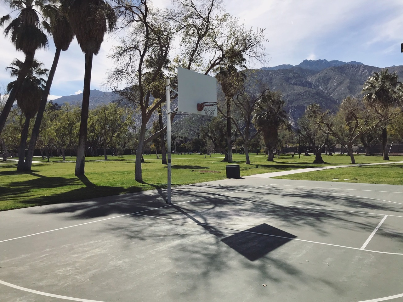 Ruth Hardy Park Palm Springs basketball court