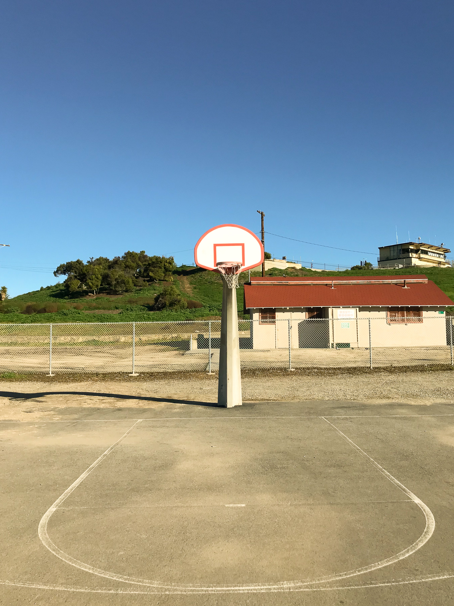 Interesting basketball courts in America