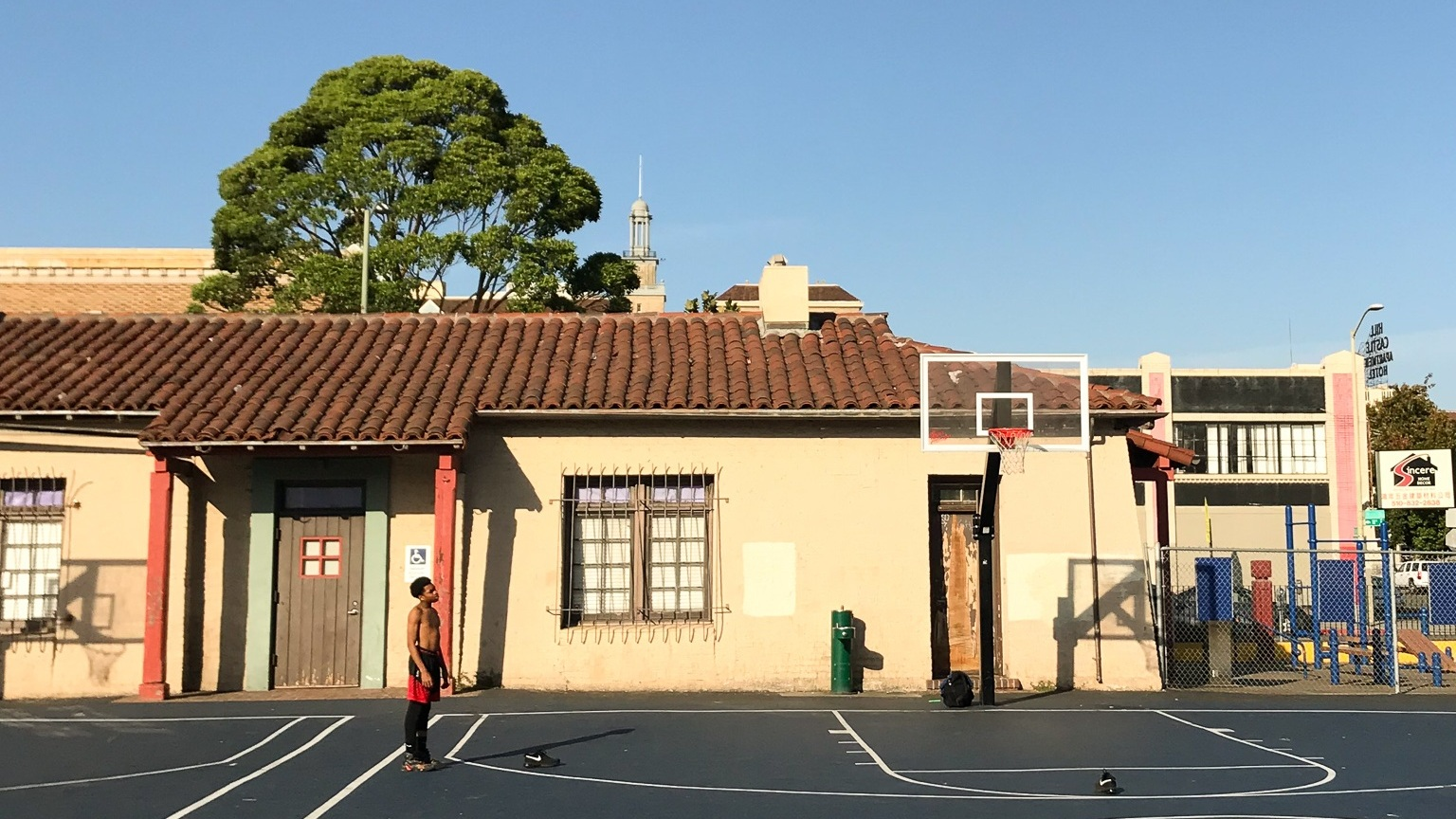 Lincoln+Park+Oakland+California+basketball+courts