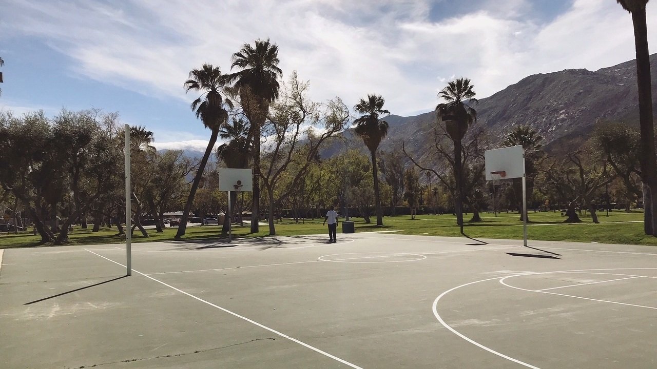 Ruth+Hardy+Park+Palm+Springs+basketball