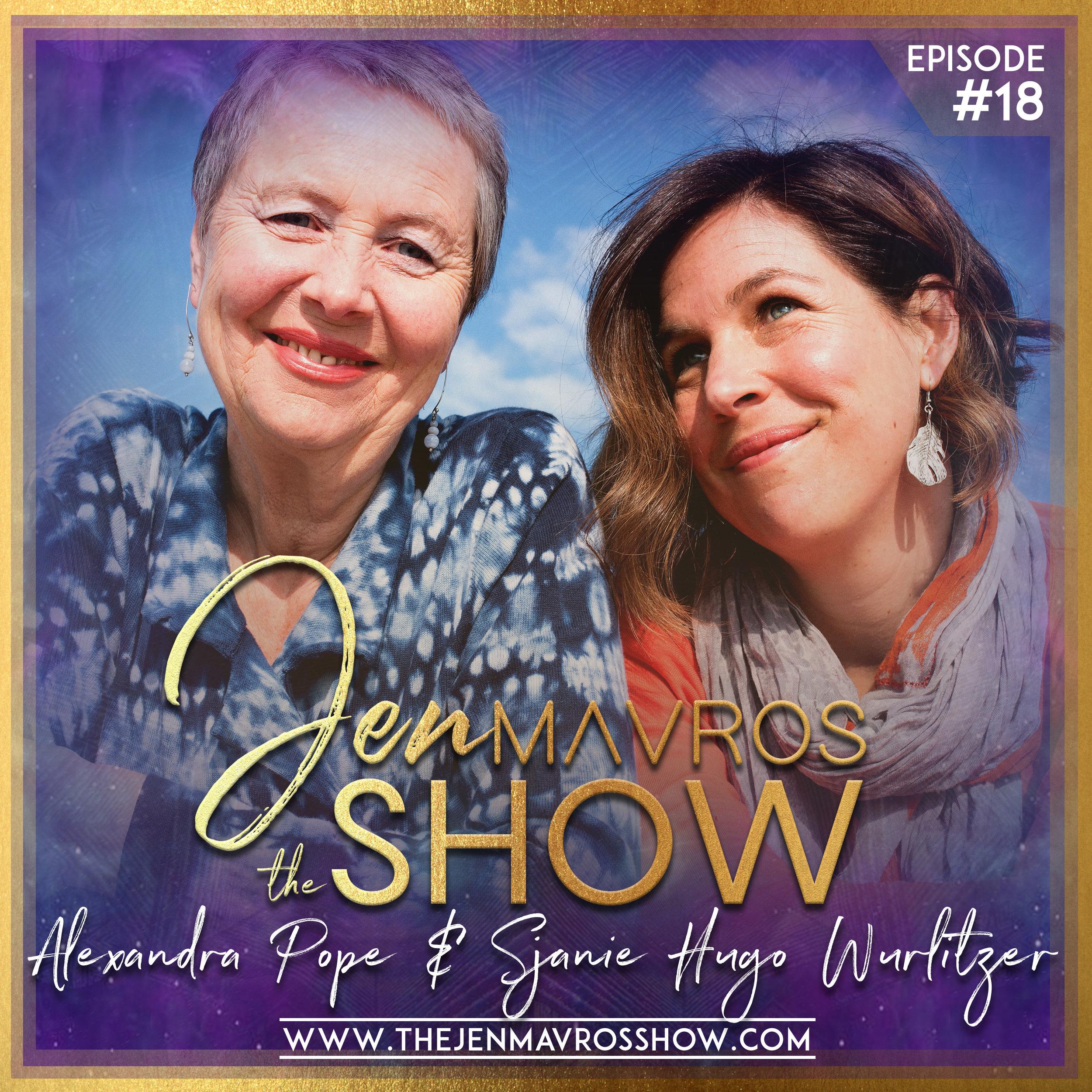 Alexandra Pope & Sjanie Hugo Wurlitzer - Menstruality - A Feminine Spiritual Practice