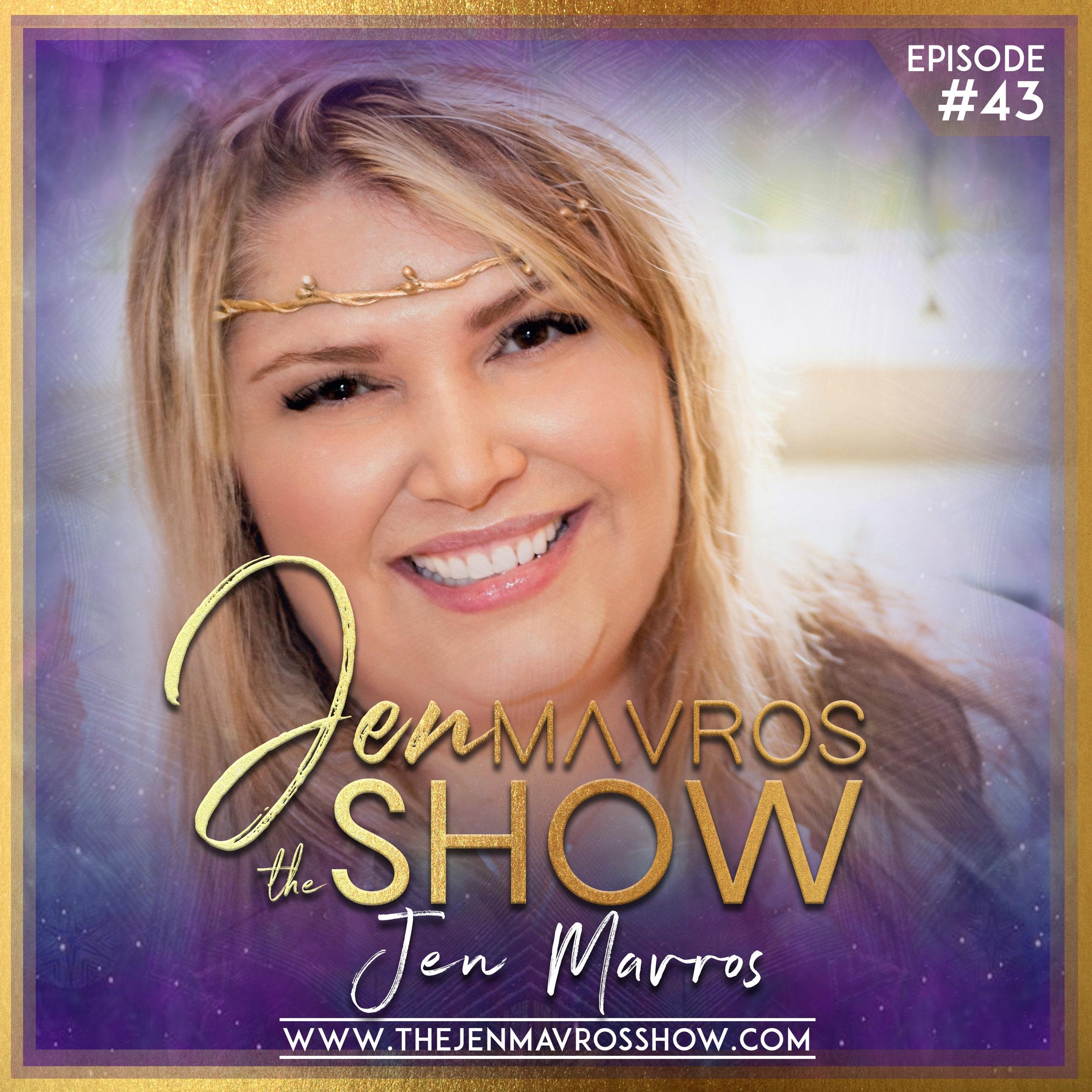 Jen Mavros - SEASON ONE FINALEYou're not going to want to miss this one loves.Tune into Jen's first master class here on The Jen Mavros Show. An episode to surely support you on your soulful journey. We're talkin'Gratitude. Learn her soul-inspiring five step method to help you achieve the most rewarding daily Gratitude Practice, why you want to and hear about the EXCITING AWESOMENESS coming up for Season Two.