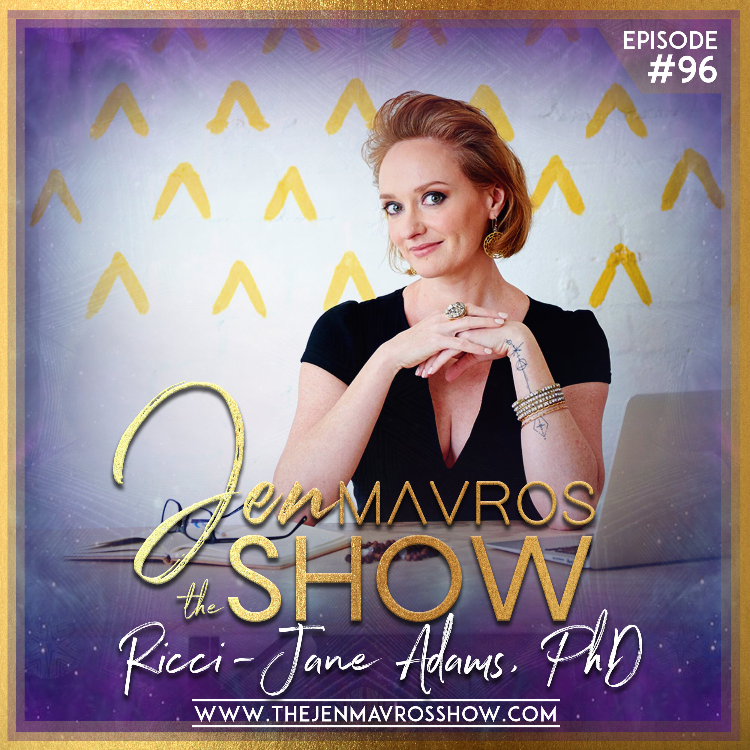 Dr. Ricci-Jane Adams - Being Spiritually Fierce & Changing The Convo On Intuition