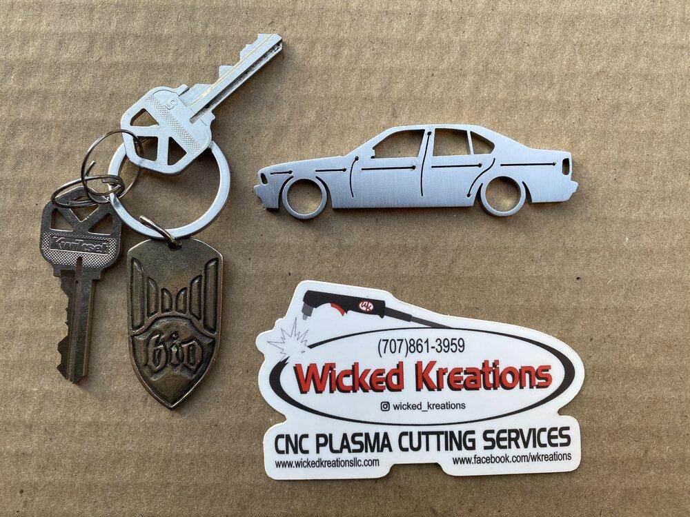 Compatible with 1985 Chevrolet Silverado Truck Emblem Design Key Ring