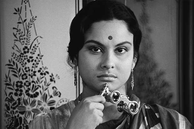 Charulata - With each new Satyajit Ray masterpiece I discover (The Apu Trilogy, The Music Room, Days and Nights in the Forest, Nayak: The Hero), I fall in love enough that I hesitate to write something of that affection now for fear my words will fall short of my regard. But I'll dare to offer this bit of sentiment, that it was the scene halfway through Charulata in which Soumitra Chatterjee sings to Madhabi Mukherjeethat that won my heart forever.