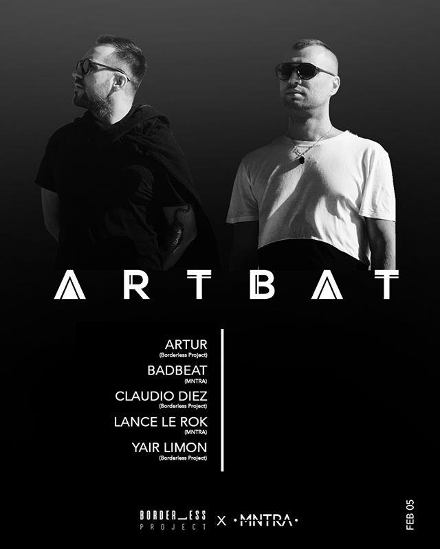 Techno Taco Tuesday ft. ARTBAT // Borderless Project + MNTRA | Las Vegas, NV.
