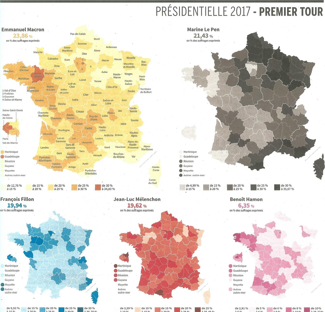 Source:  Le Monde , 25 avril 2017