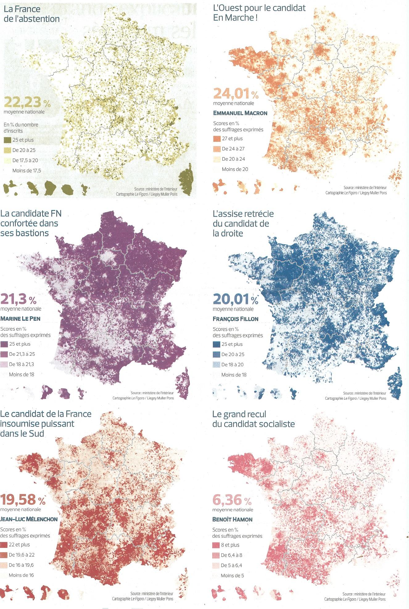 Source:  Le Figaro , 25 avril 2017