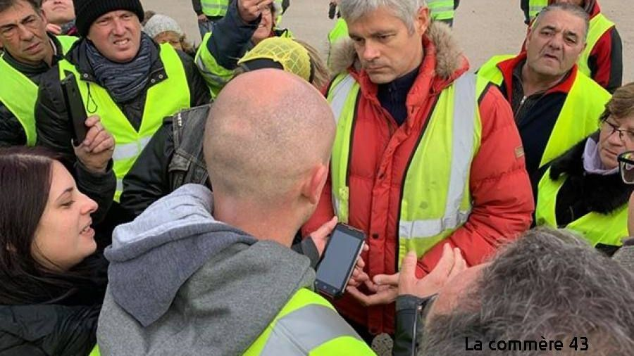 Figure 1 - Laurent Wauquiez, Man of the people - Le Puy-en-Velay, 24 November 2018