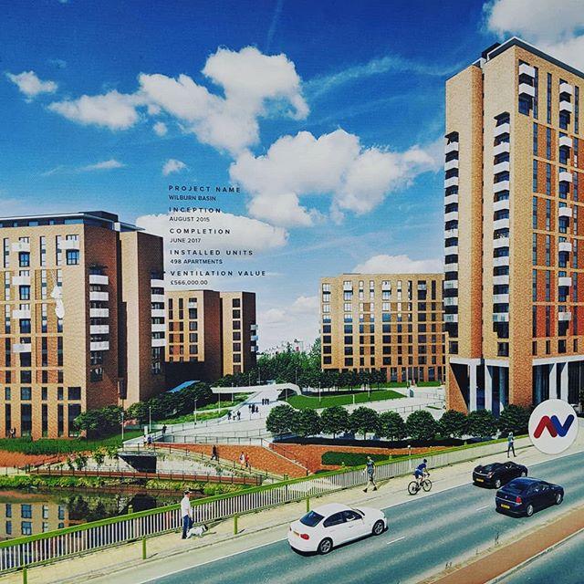 Project name - WILBURN BASIN Inception-Nov 2015 Completion-Dec 2017 Installed Units- 498 Apartments #ventilation #MEP #autocad #bolton #commercial #industrialdesign #hvac