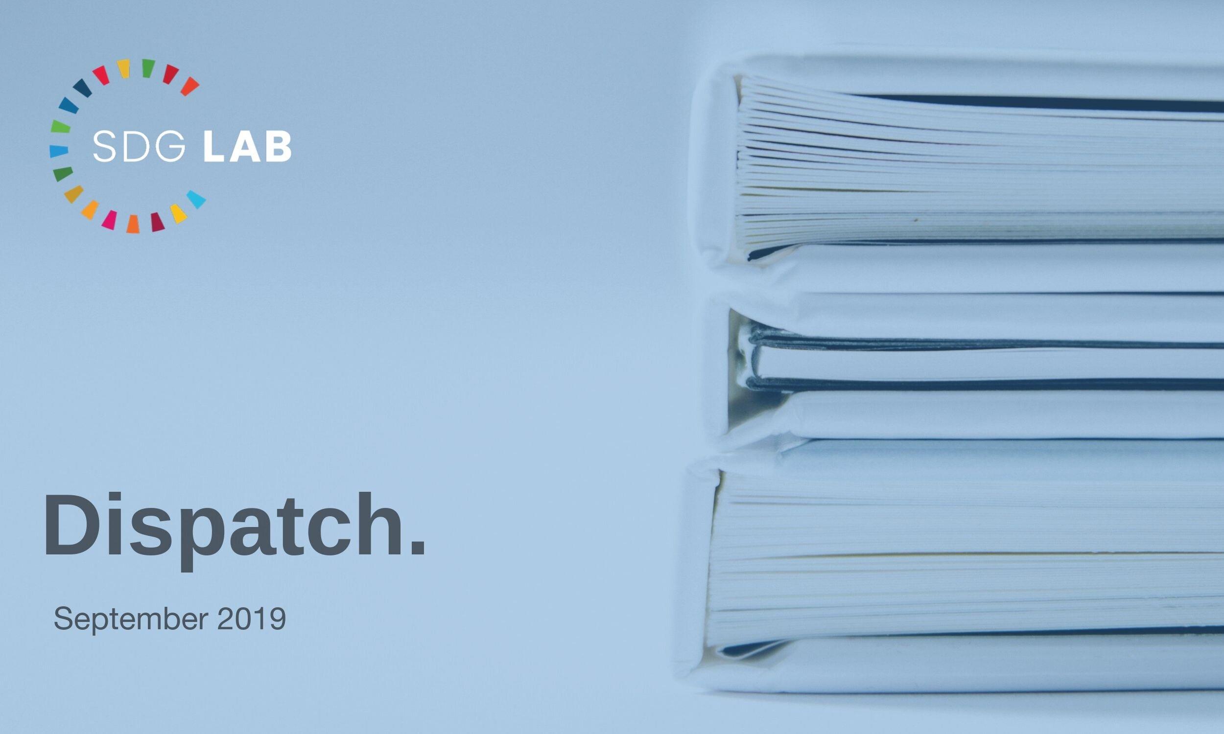 SDG Lab Dispatch September 2019 .jpg