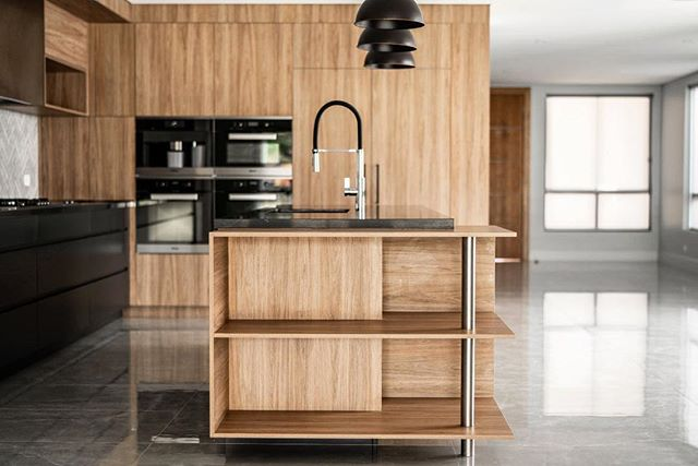 Clean lines and ample storage in this stunning Strathfield kitchen. #dreamkitchen #magnokitchens #interiordesign
